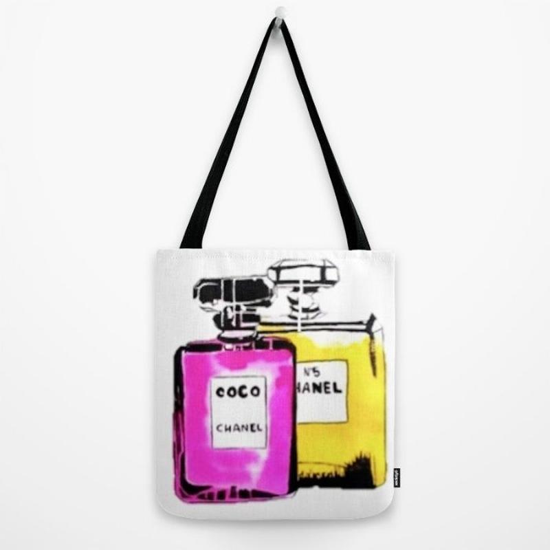 Society6/Artist Tote Bag bottle