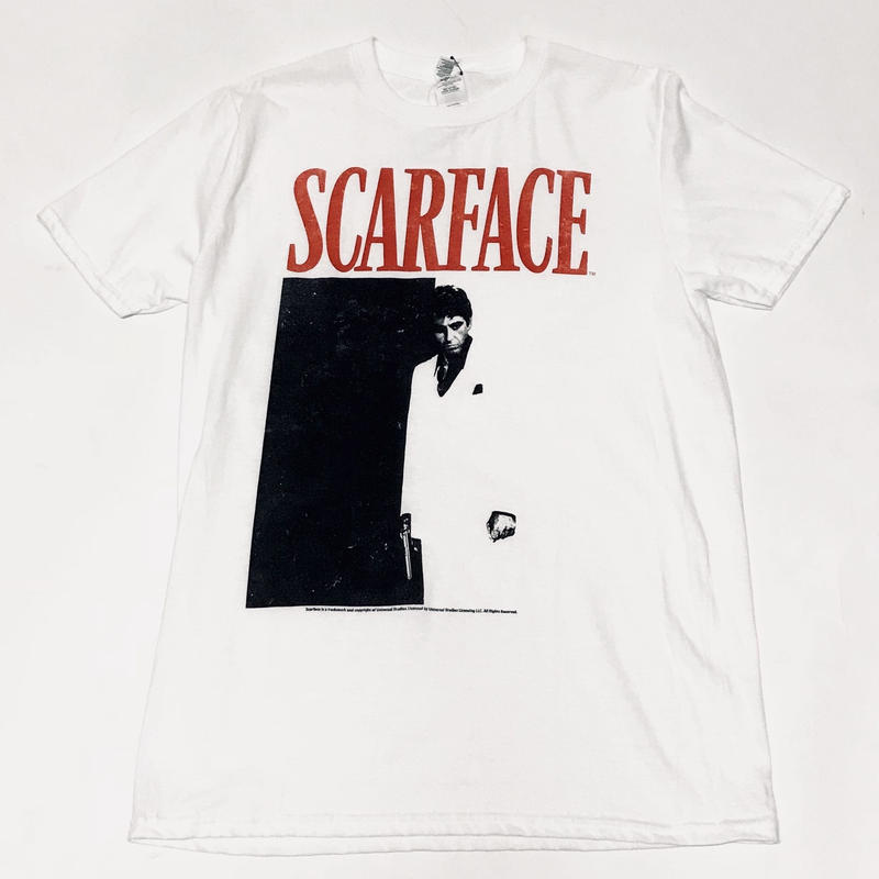 SCARFACE/official Tee ホワイト