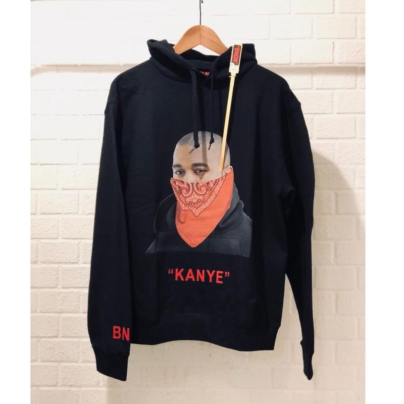 "BNDN WEAR/Hypebeast Icon  Hoodie  ""Kanye West"""