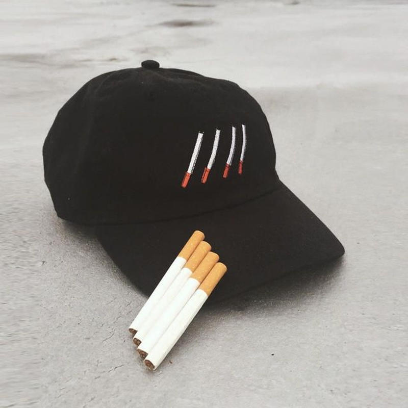 448C/ELAP smorking cap Black