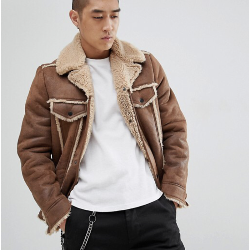 Boa  Jacket  BROWN