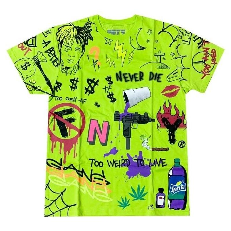 FNTY/ Never Die Tshirts NEON Green
