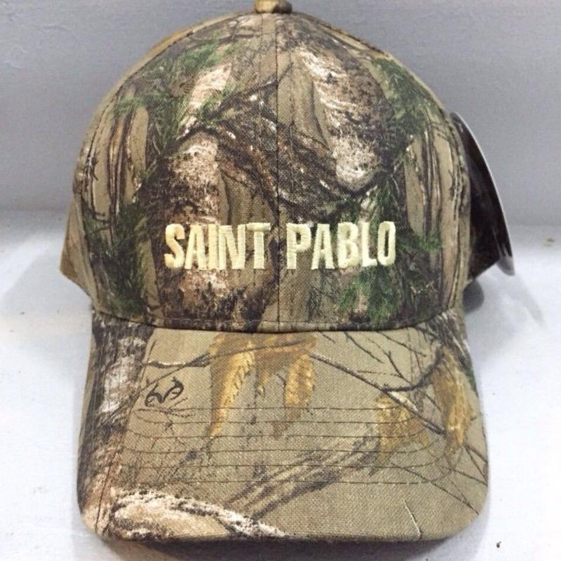 Saint Pablo Tour/Official Tour Cap CAMO