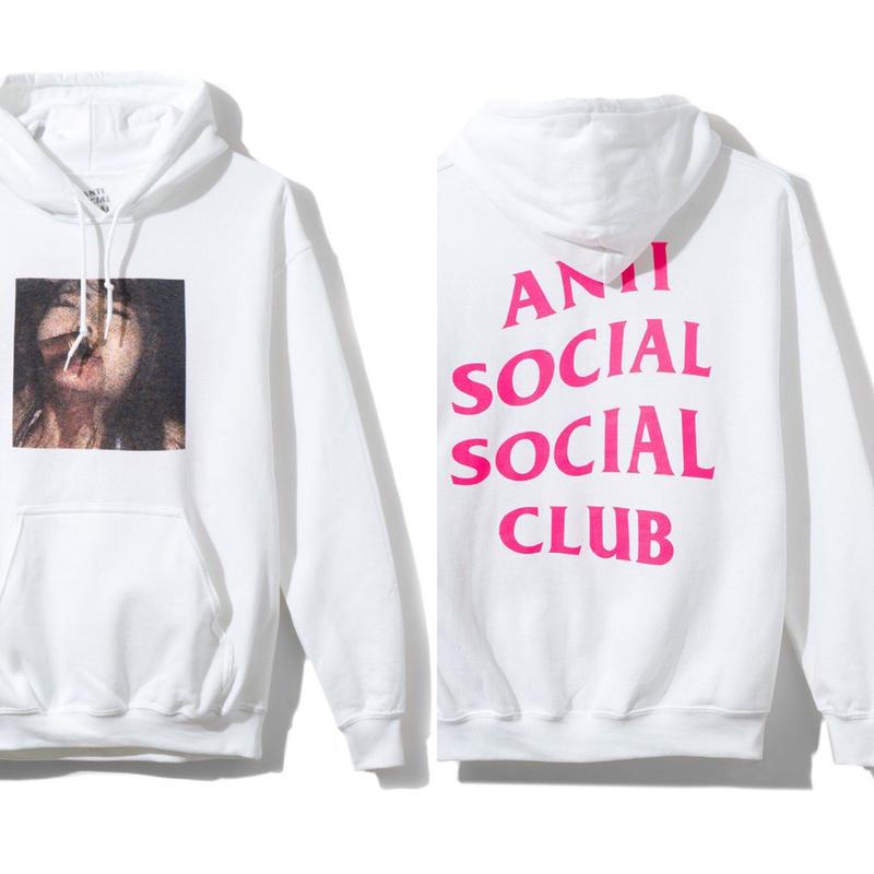 Anti Social Social Club/Jav White Hoodie 限定デザイン