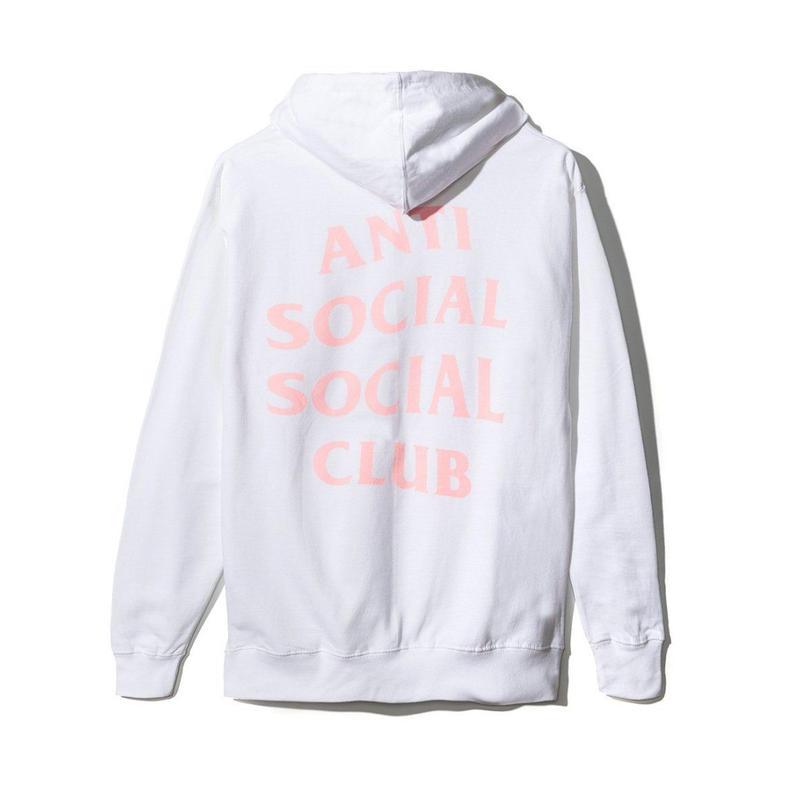 Anti Social Social Club/Logo フーディー White 限定カラー