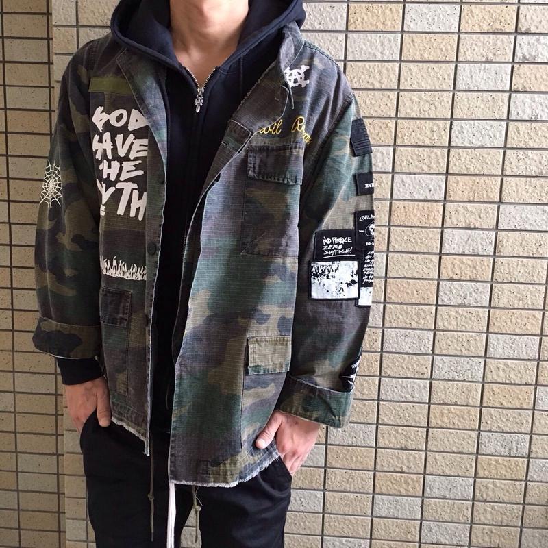 Civil Clothing/Camo Jacket