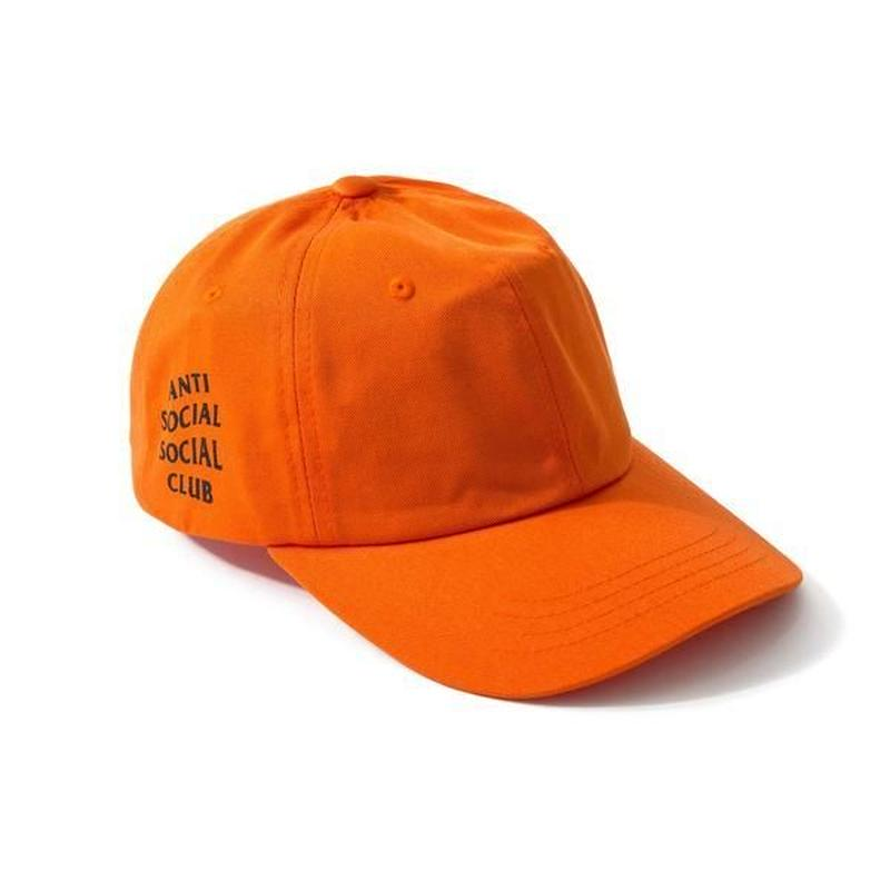 Anti Social Social Club/WEIRD CAP ーORANGE