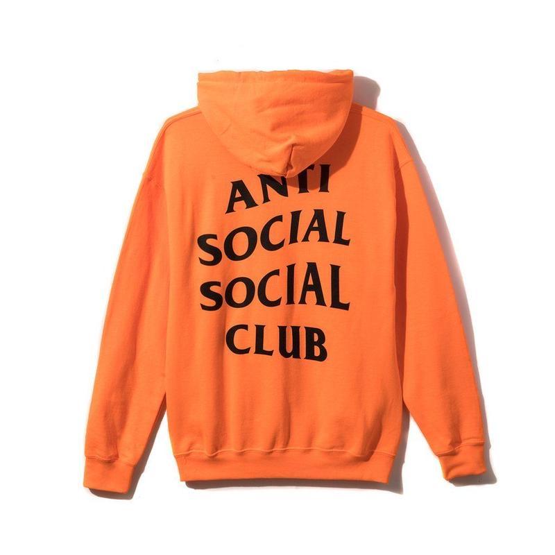 Anti Social Social Club/Logo フーディー   ORANGE 限定カラー