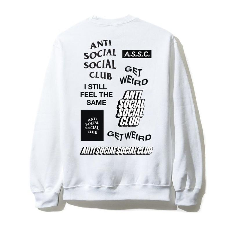 Anti Social Social Club/SS新作  Long Sleeve Tee ホワイト