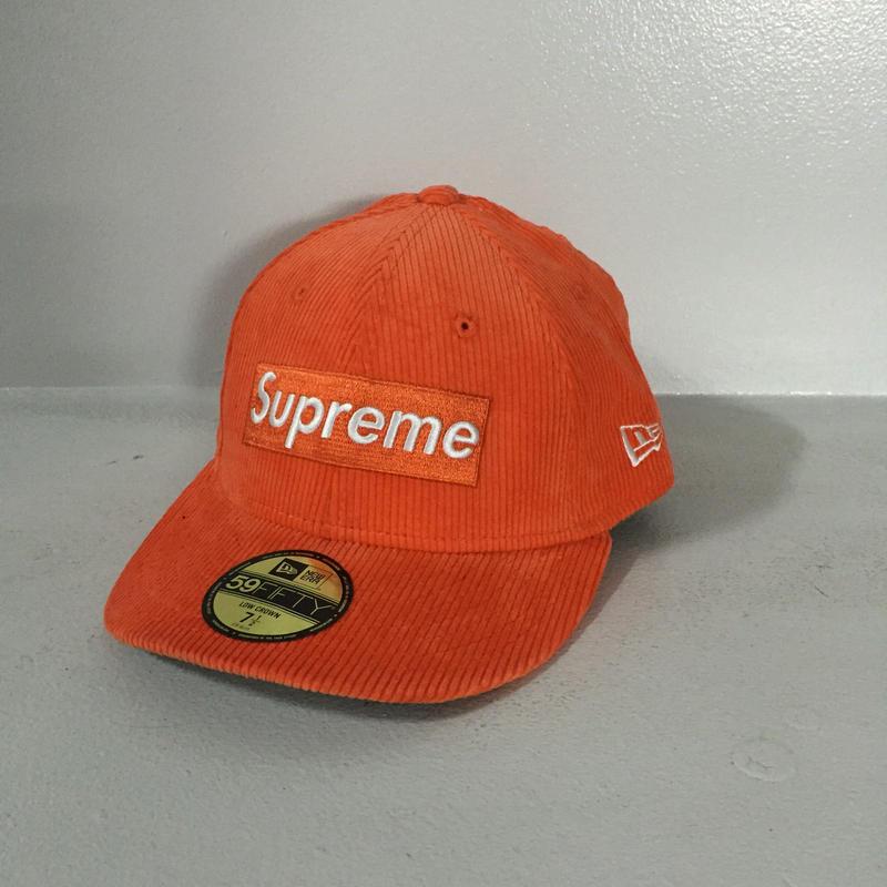 SUPREME/NEWERA CAP ORENGE