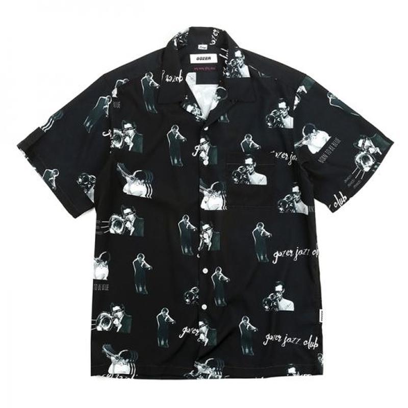 GOZER/Jazz Club Shirts ブラック