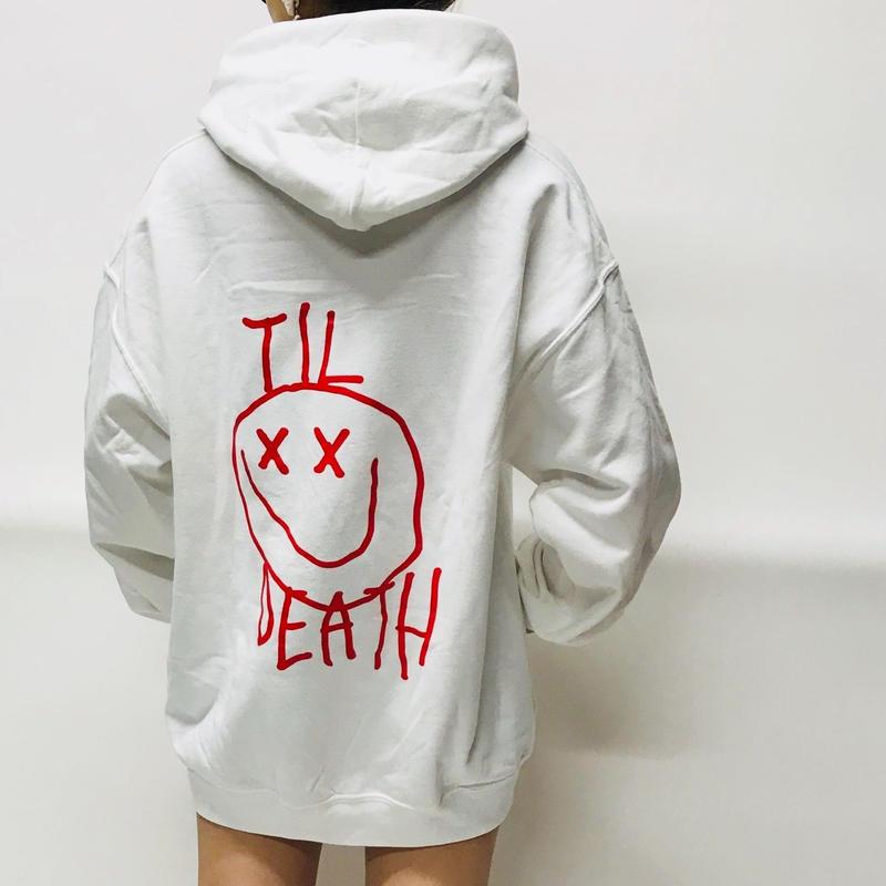 Ryan Hawaii/Smile hoodie WHITE