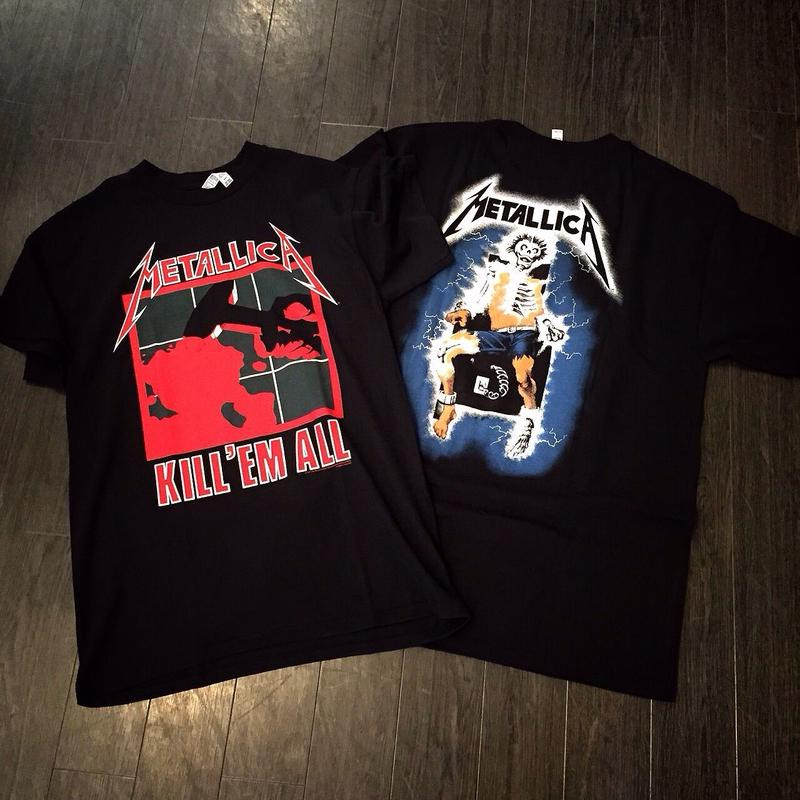 Metallica/official  band Tee (kill em all)