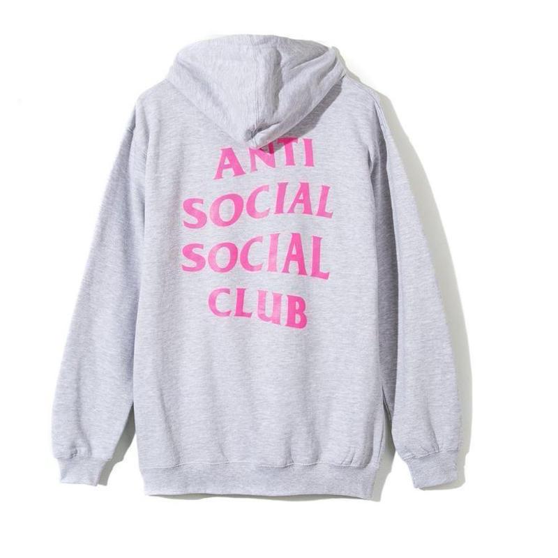 Anti Social Social Club/Logo フーディー GRAY