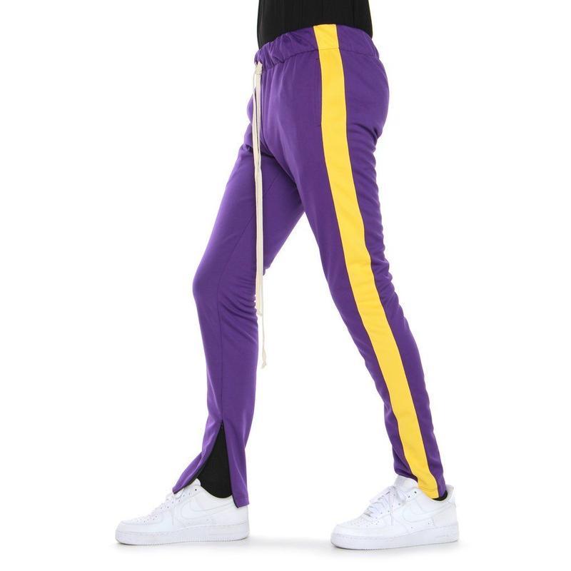 EPTM/トラックパンツ Purple×Yellow