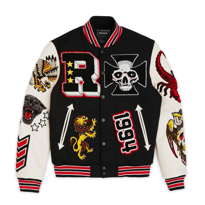 Reason Clothing Newyork/WOOL JACKET BLACK