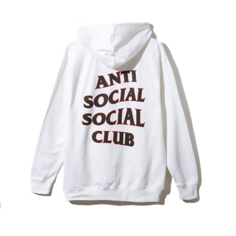 Anti Social Social Club/Rodeo Dr. white Hoodie 限定カラー