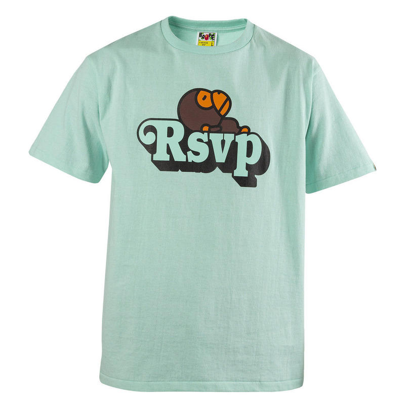RSVP gallery × BAPE MILO Tシャツ
