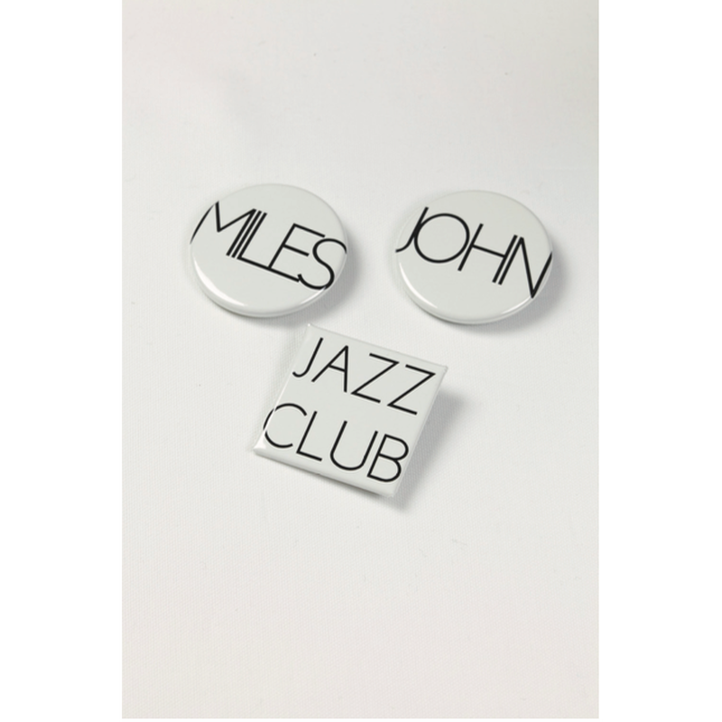 HUMIS : JAZZ CLUB BADGES