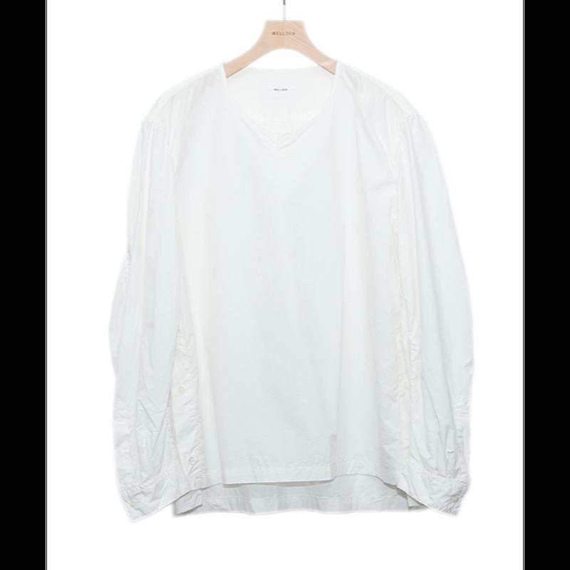 WELLDER : Puckering Sleeve Pullover Shirt