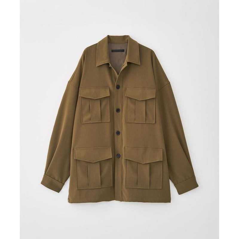 JUHA : OVERSIZED SAFARI JACKET