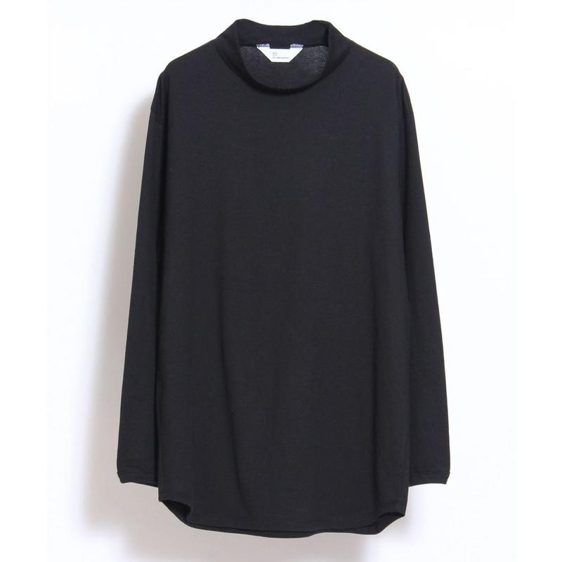 10 by juha stable garments : SOFT MOCK NECK L/S TEE