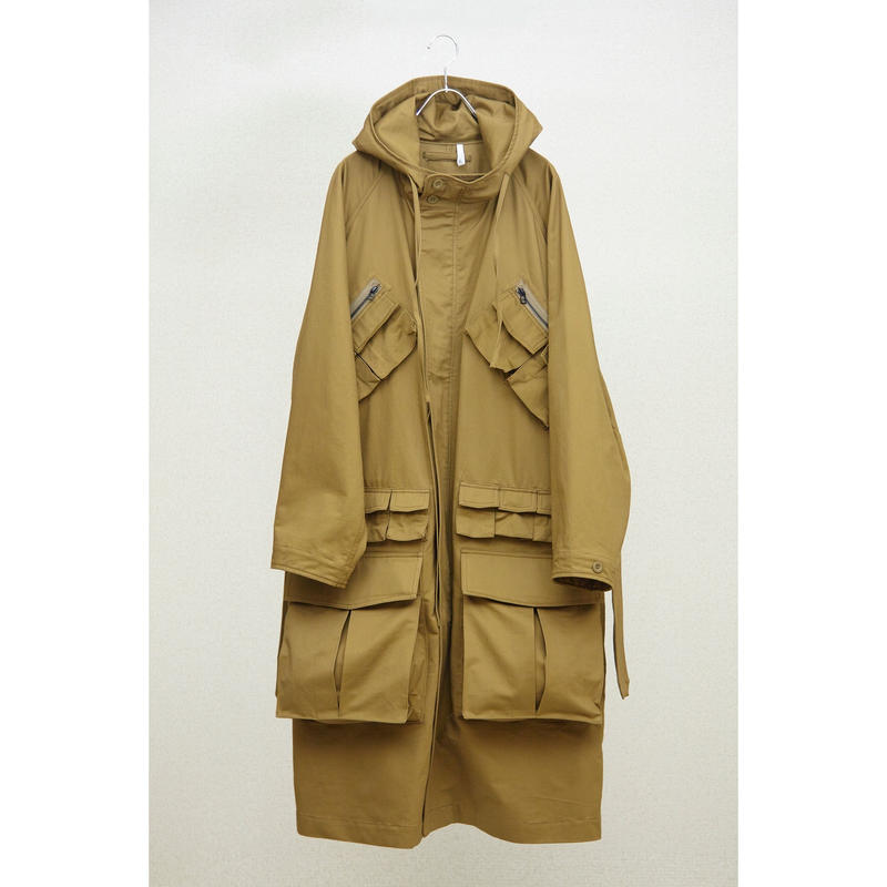 HUMIS : TRANSFORMED MILITARY OVER COAT