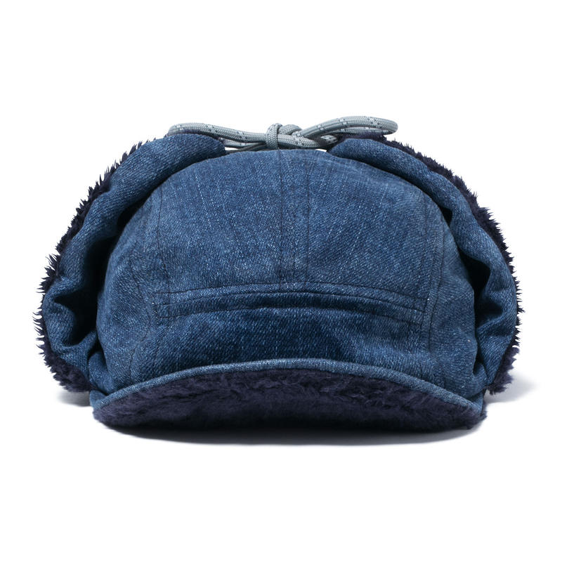 hobo : Japanese Denim 13.5oz Boa Cap