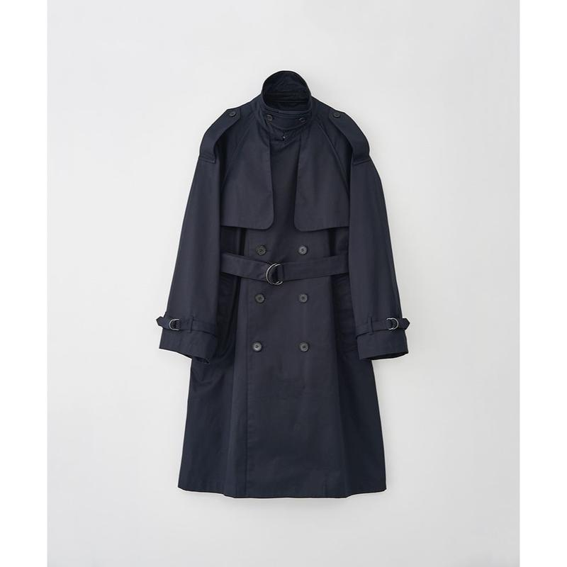JUHA : OVER SIZED TRENCH COAT
