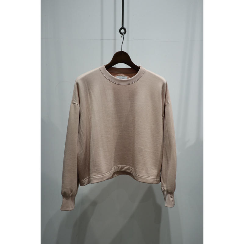 KIIT : NY/COTTON PILE SHORT PULLOVER TOPS