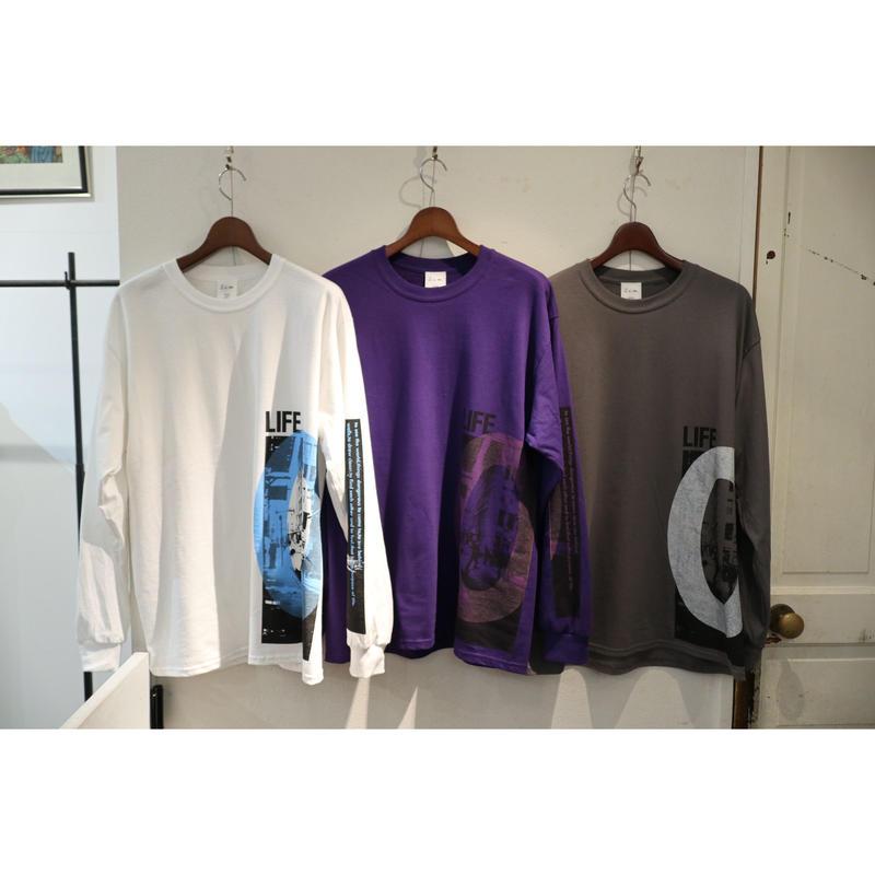 S.i.m : LIFE0 Long Sleeve T-shirt