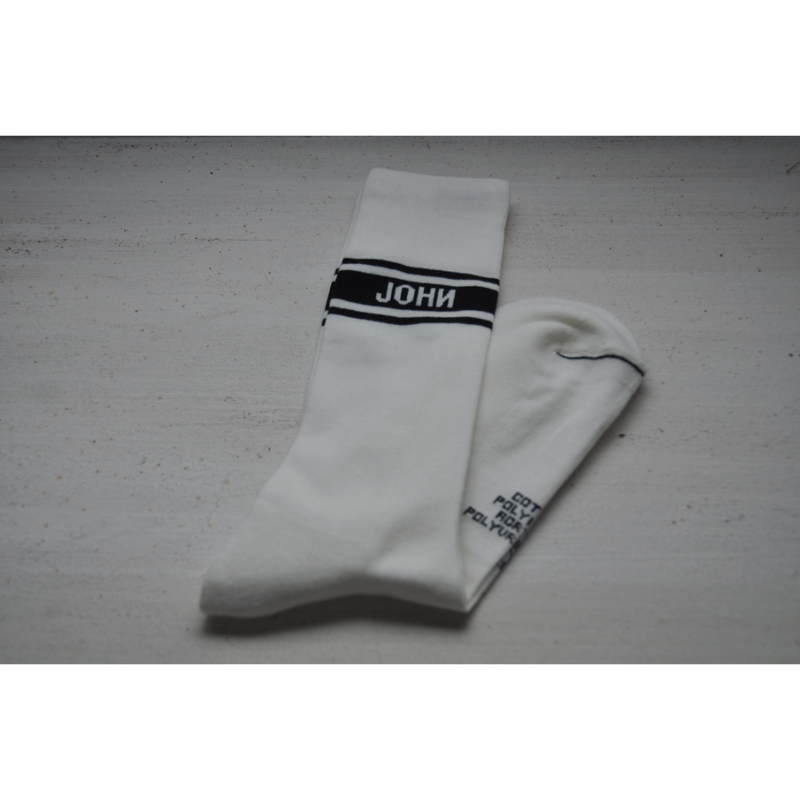 JOHN MASON SMITH : LOGO SOCKS