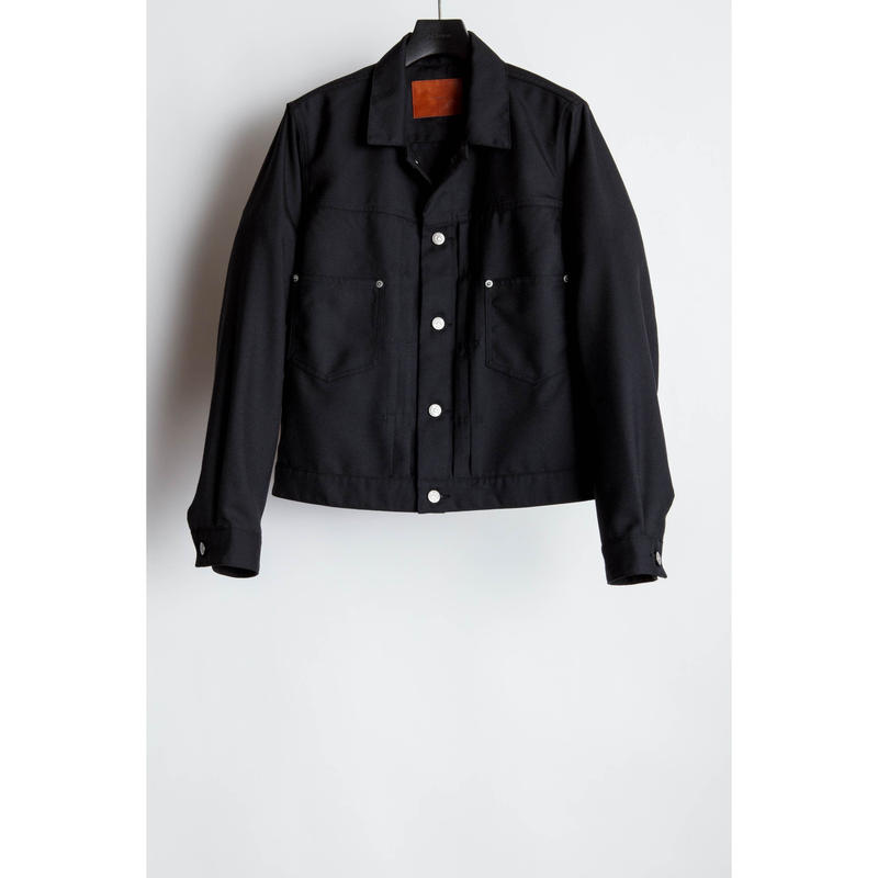 The Letters : Western Work Jacket. -Gabardine-