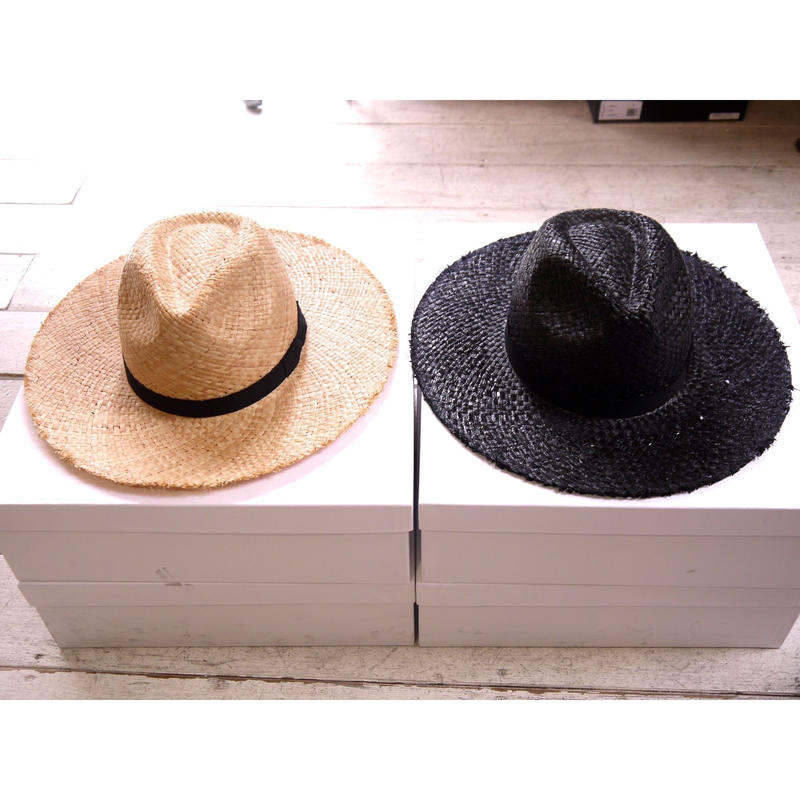 Name. : RAFFIA LONG BRIM HAT
