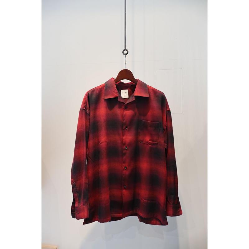 S.i.m : Ombre Check Shirt
