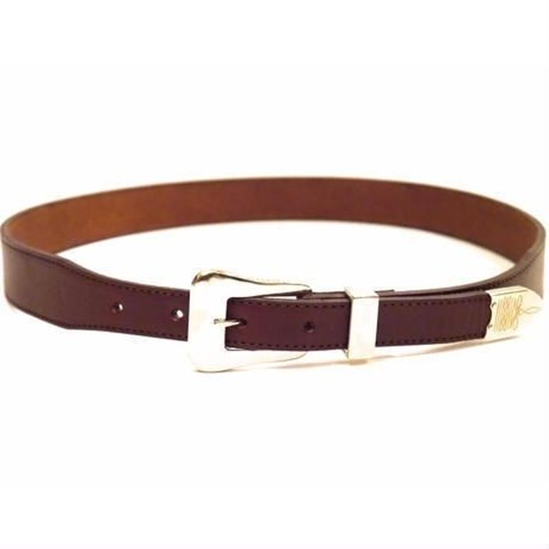 The Letters : Twisted Western 3 Piece Belt