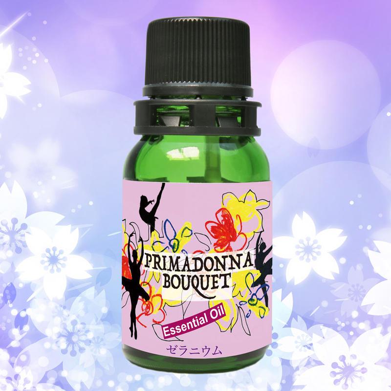 夜のエッセンシャルオイル ゼラニウム(7ml)1,400円+税    クールビューティーを演出するローズ系の香り