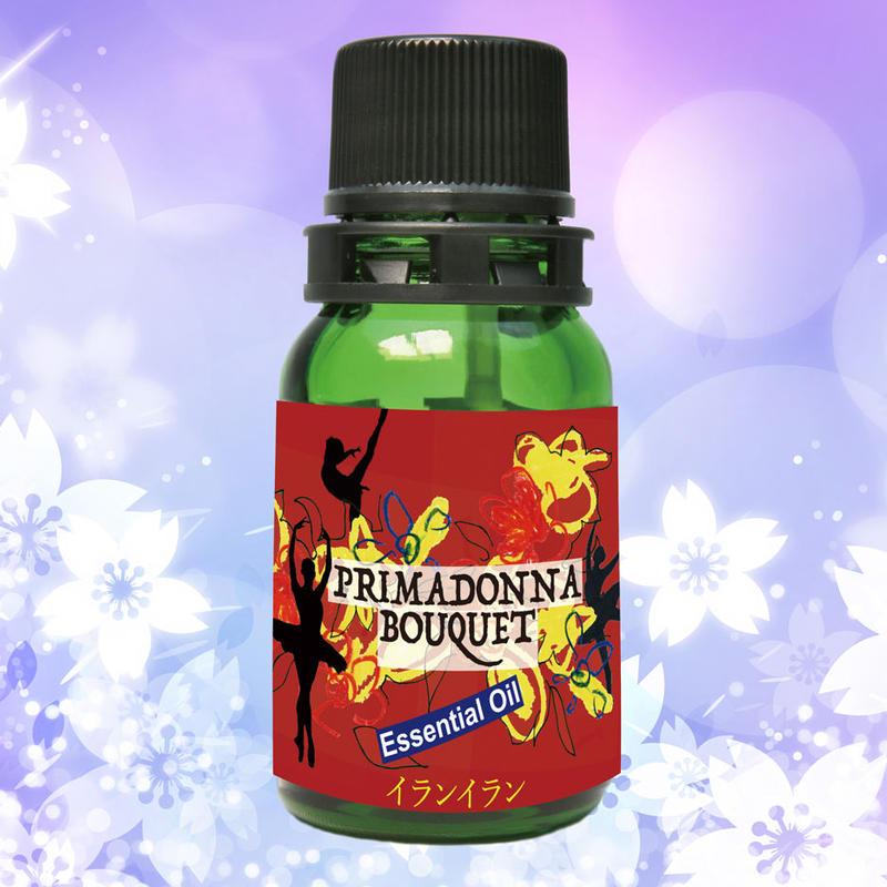 夜のエッセンシャルオイル イラン・イラン(7ml)2,000円+税    夜の私に変身するための妖艶な香り