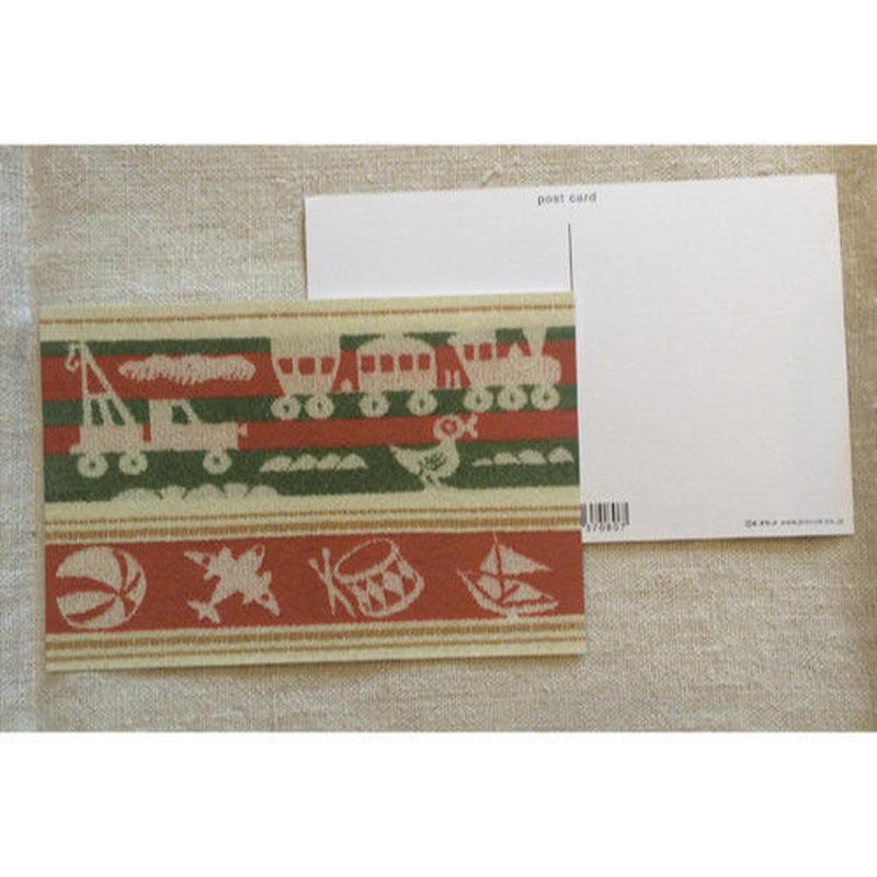 オリジナルポストカード・おもちゃ・2枚