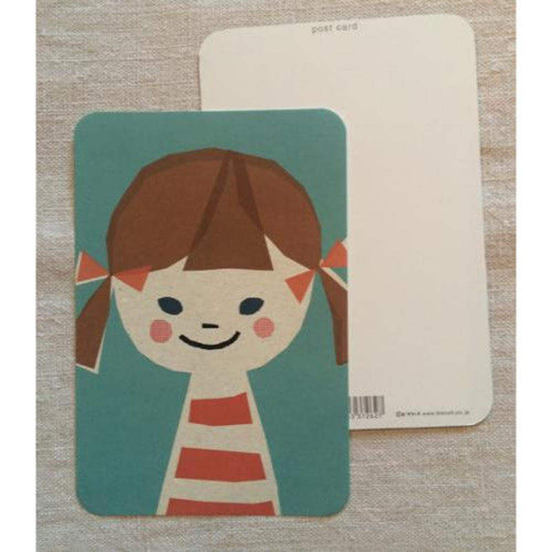 オリジナルポストカード・女の子・2枚