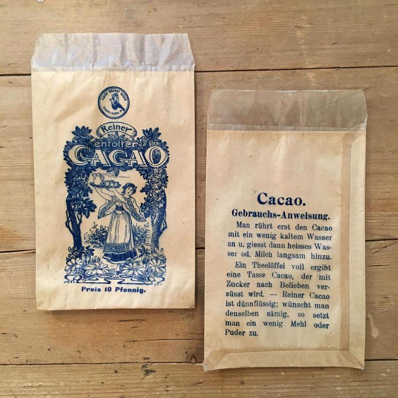 ドイツの紙袋 CACAO(1枚)