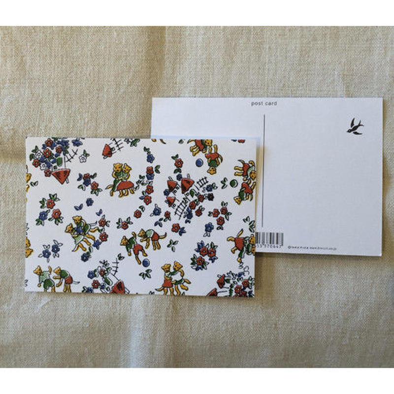 オリジナルポストカード・ねこカップル・2枚