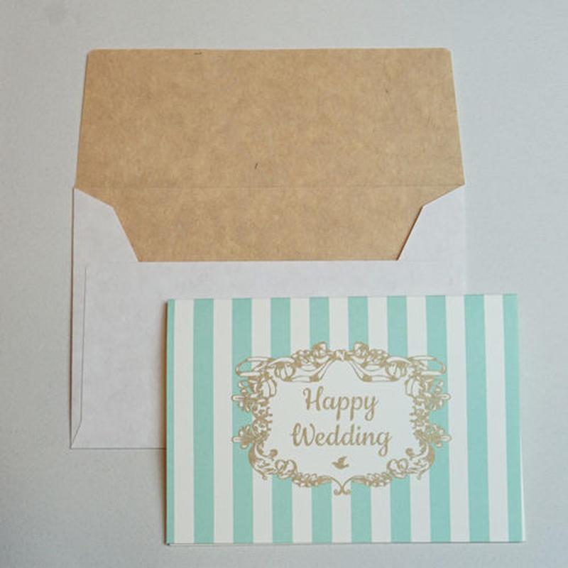 ミニグリーティングカード(封筒付き)・結婚祝い