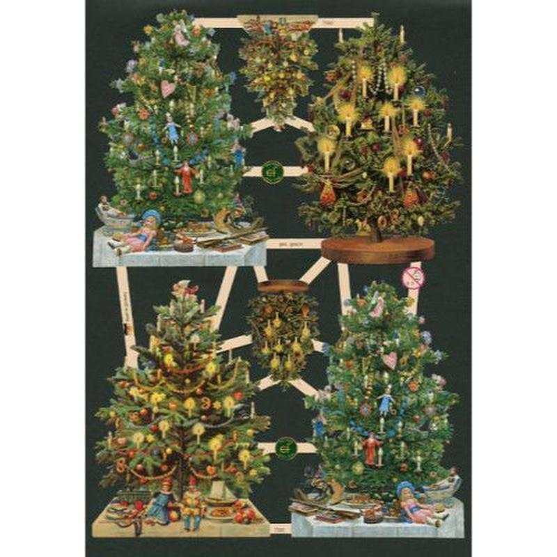 スクラップピクチャー・クリスマスツリー2