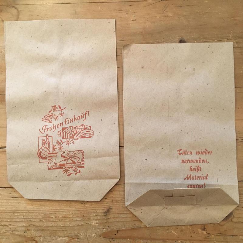 DDR(東ドイツ)の紙袋 1(1枚)