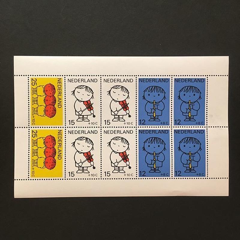 オランダの児童福祉切手'69
