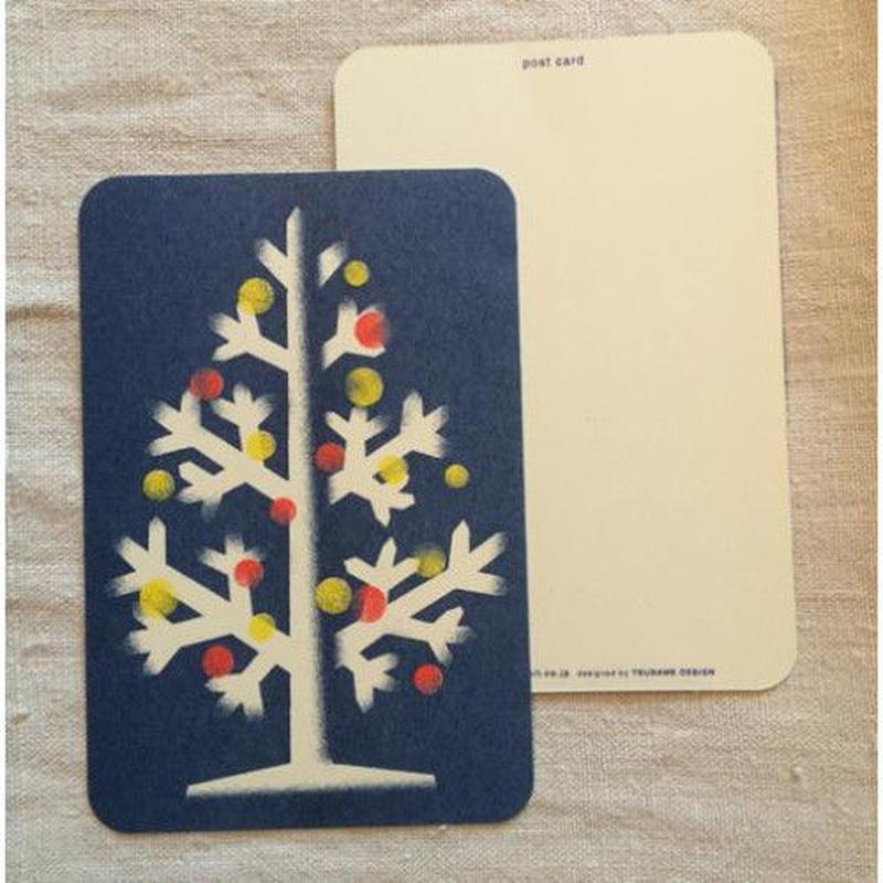 オリジナルポストカード・クリスマスツリー・2枚