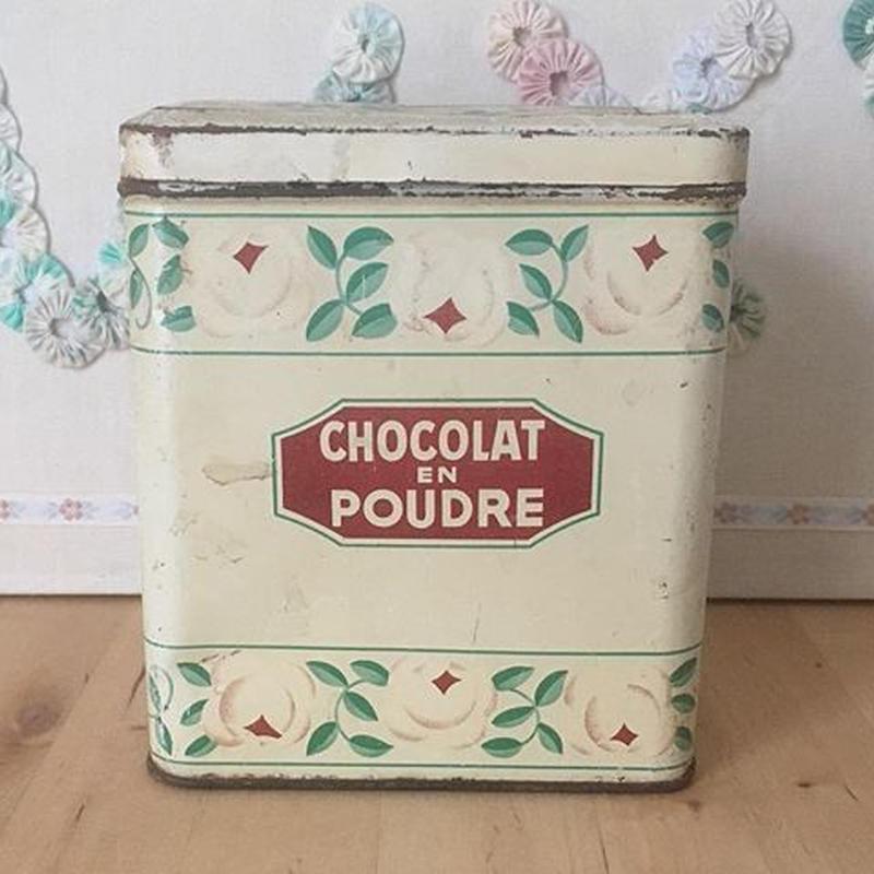 ショコラムニエ ローズティン缶 CHOCOLAT EN POUDRE