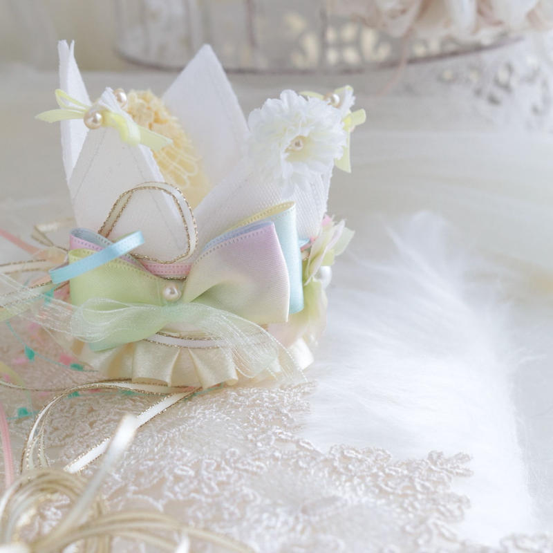 ミルキーフリルな王冠