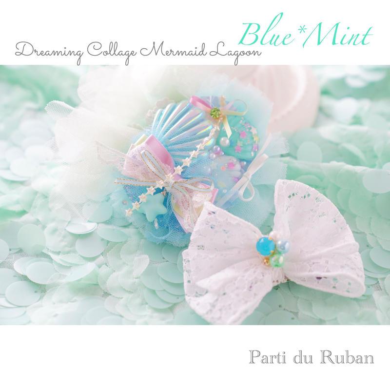 Dreaming Collage  Mermaid lagoon  Blue*Mint